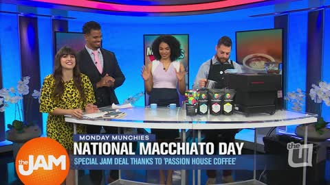 Monday Munchies | National Macchiato Day